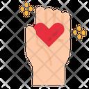 Heart Charity Icon