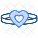 Heart Valentines Day Locket Icon