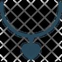 Heart Charm Locket Icon
