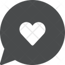 Heart Chat Icon