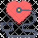 Heart Check Love Icon
