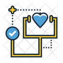 Heart Check Icon