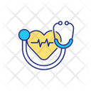 Heart Checking Icon