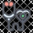 Stethoscope Medical Tool Phonendoscope Icon
