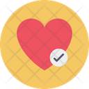 Heart Medical Ok Icon
