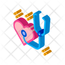 Heart Beat Measurements Icon