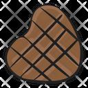 Heart Chocolate Icon