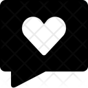 Heart Comment Icon