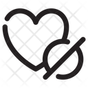 Heart Denied Icon