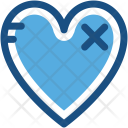 Heart Disease Broken Icon