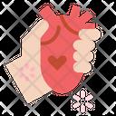 Heart Organ Donate Icon