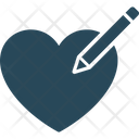 Heart Editing Icon