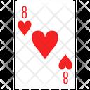 Heart Eight Icon