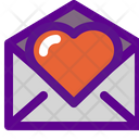 Heart Mail Love Mail Heart Email Icon