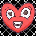 Heart Emoji Heart Expression Emotag Icon