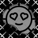 Heart Eyes Icon