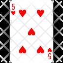Heart Five Icon