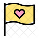 Heart Flag Icon