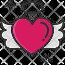 Heart Flying Heart Flying Icon