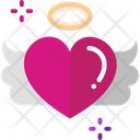 Heart Flying Icon