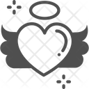 Heart Flying Love Icon