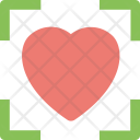 Heart Focus Affection Icon