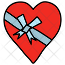 Heart Gift Icon
