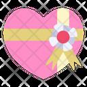 Heart Gift Gift Valentine Icon
