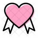 Heart Gift Box Icon
