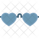 Heart Glasses Love Love Theme Icon