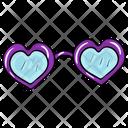 Heart Goggles Icon