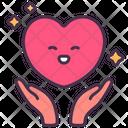 Self Care Comforting Heart Icon