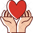 Heart Hands Icon