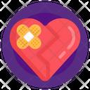 Heart Bandage Heart Healing Broken Heart Icon