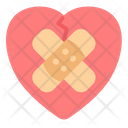 Healing Patch Heart Icon