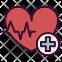 Heart Health Heart Attack Ecp Icon