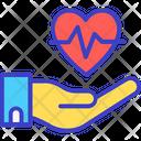 Heart Health Heart Disease Cardiology Icon