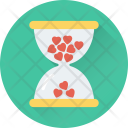 Heart Hourglass Icon