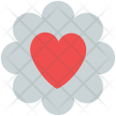 Heart in flower Icon