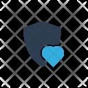 Heart insurance Icon