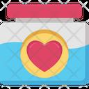 Heart Jar Icon