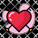 Valentine Red Pink Icon