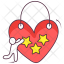 Heart Keychain Icon