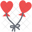 Heart kites Icon
