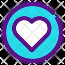 Heart Like Inactive Icon