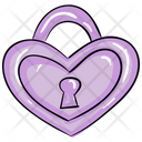 Heart Lock Secret Feelings Love Inspiration Icon