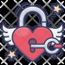 Heart Lock Icon