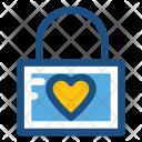 Lock Privacy Romantic Icon