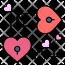 Heart Lock Love Lock Padlock Icon