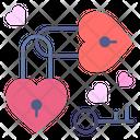 Heart Lock Padlock Heart Icon